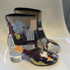 NIB Maison Margiela Limited 127/200 number boot. 9